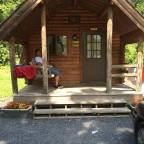 My Vacation at the KOA Campgrounds in the Pocano Mountains in PA